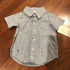 NWT Carter's dress shirt